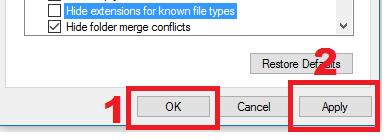 Teknik menampilkan ekstensi file pada windows  2 Teknik Menampilkan Ekstensi File Windows 10, 8 dan 7 Sekaligus dengan cepatdangampang