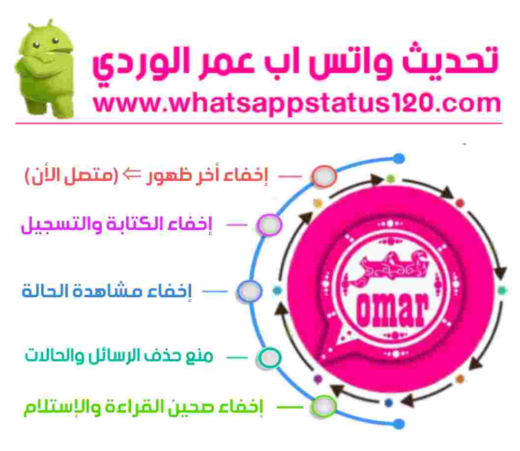 تنزيل واتساب عمر الوردي آخر تحديث من الموقع الرسمي OB2WhatsApp برابط مباشر الإصدار الجديد