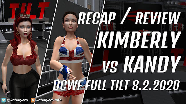 DCWF FULL TILT (8.2.2020) KIMBERLY vs KANDY Recap / Review Somewhat LOL!