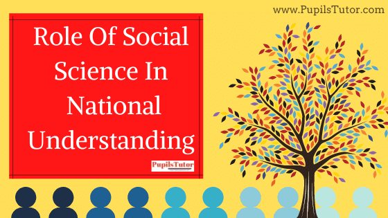 National Understanding Through Teaching Social Science - What Is The Role Of Social Science In The Nation Building?   How Present Concept Of Social Science Teaching Create National Understanding -  Function, Role   What Is Social Science In Society
