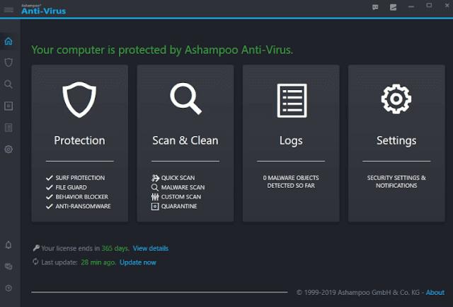 Download Ashampoo Anti-Virus Free