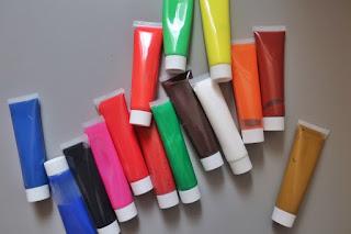 zestaw farb akrylowych z Action artist & co