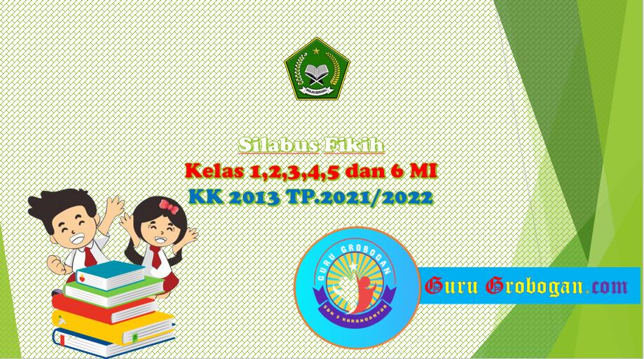 Silabus Fikih Kelas 1 s/d 6 KK 2013