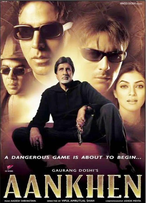 Aankhen 2002 Full Movie Hindi 720p HDRip 1.2GB Download
