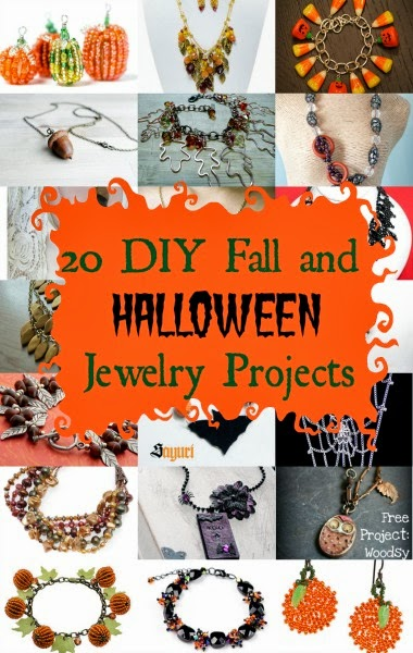 Halloween Jewelry : halloween, jewelry, Halloween, Jewelry, Projects, Girlish, Whims