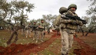 Pasukan Turki Luncurkan Serangan Besar Di Suriah Barat Laut