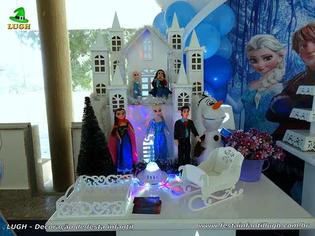 Decoração festa de aniversário Frozen