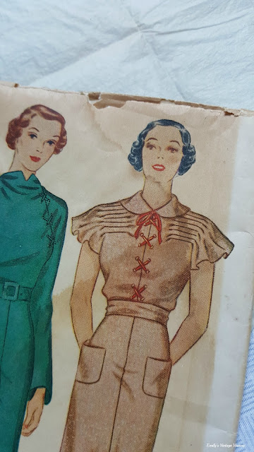 1930s Simplicity sewing pattern