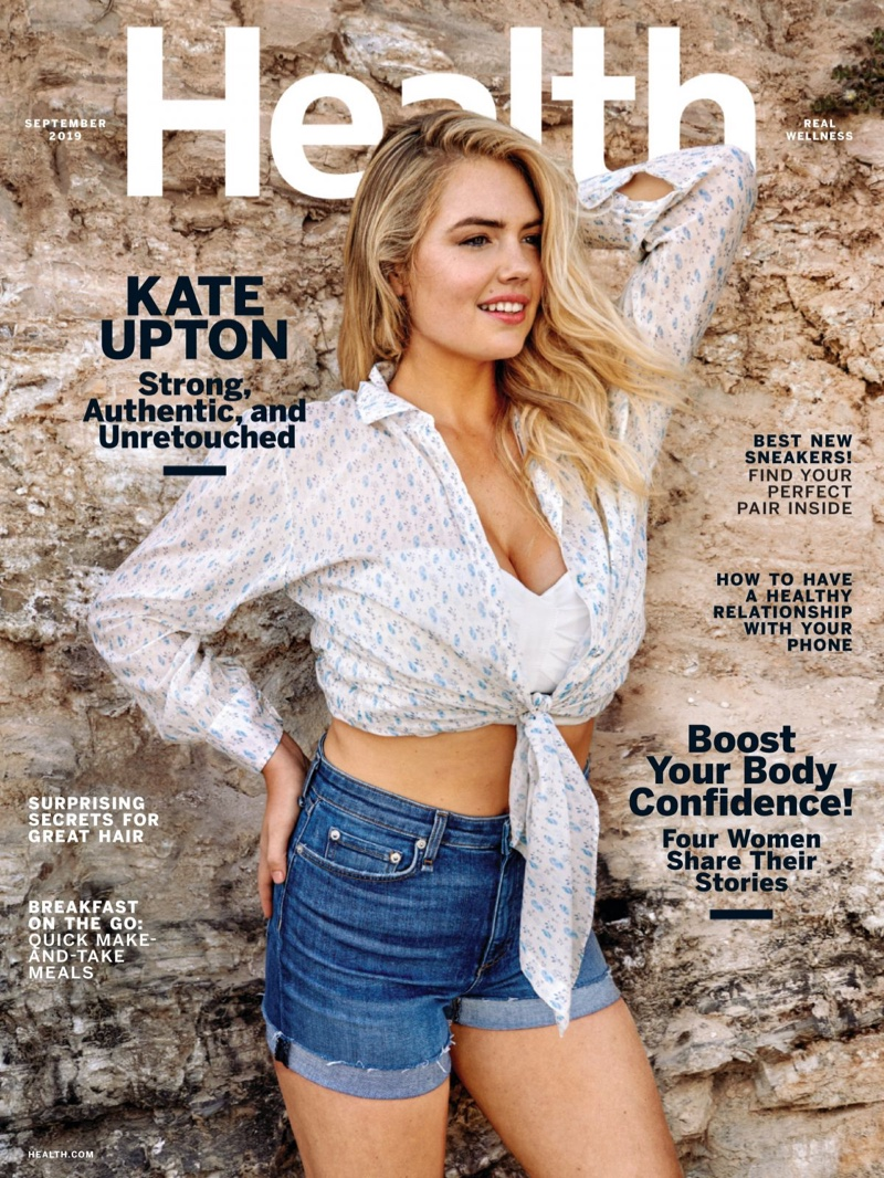 Kate Upton Goes Unretouched in Health Magazine