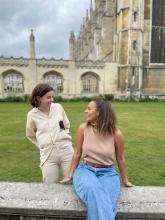 St Edmund's College student Emily Otterbeck  Lesley Farrah  co-founded Cambridge Femtech Society.