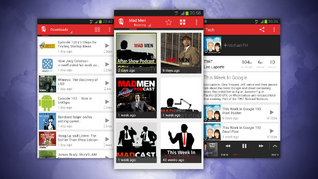 Aplikasi Podcast PlayerFM