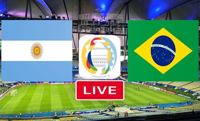 Match Brésil vs Argentine en direct Final Copa America 2021
