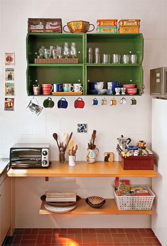 caixotes de feira, armário cozinha, a casa eh sua, prateleira cozinha, decor, decoração