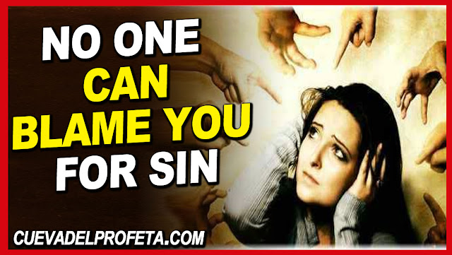 Hallelujah! No one can blame you for sin - William Marrion Branham Quotes