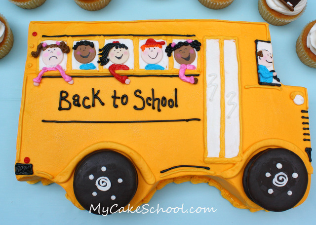 http://www.mycakeschool.com/blog/back-to-school-cake-cupcakes/