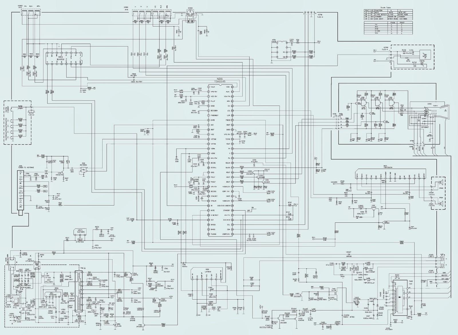 Electro help: CCE HPS-2118_AUTODESK - CTV SCHEMATIC ...