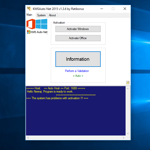 Hack Linux Root: How to activate microsoft office all