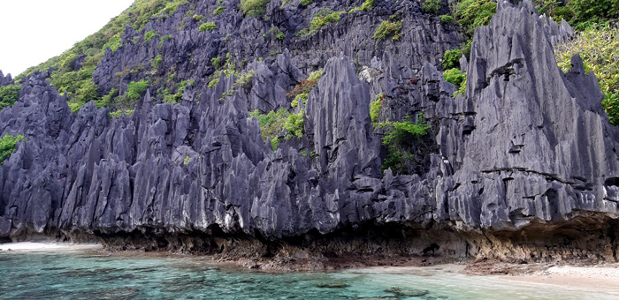 The real solid rock of ages, El Nido.