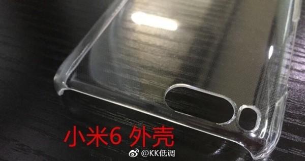 Vazamentos de fotos da Case do Xiaomi Mi6