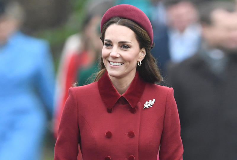 Shine in the winter fashion hair collars like Kate Middleton