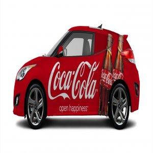 How make advertise with your own Car?