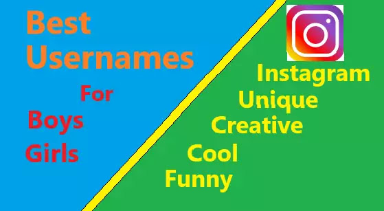 best usernames for boys and girls