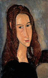 Modigliani's portrait of his lover, Jeanne Hébuterne