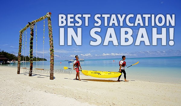 Best Staycation In Sabah – From Bustling City Centre to an Island Retreat
