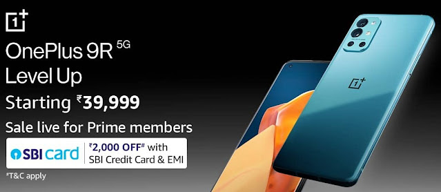 Sale of OnePlus 9 5G and OnePlus 9R 5G Live on Oneplus.in - Only for prime member on Amazon | TechNeg