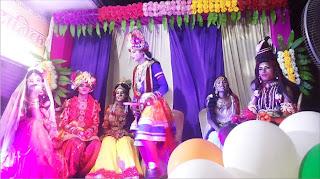 धूमधाम से मनाया गया भगवान श्रीकृष्ण का जन्मोत्सव | #NayaSaberaNetwork