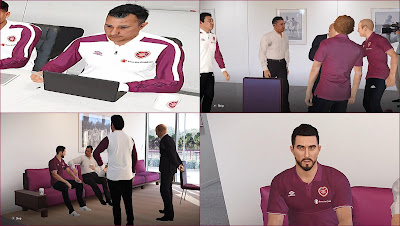 PES 2020 Hearts Polo Shirts & Track Suits by PESWilliam