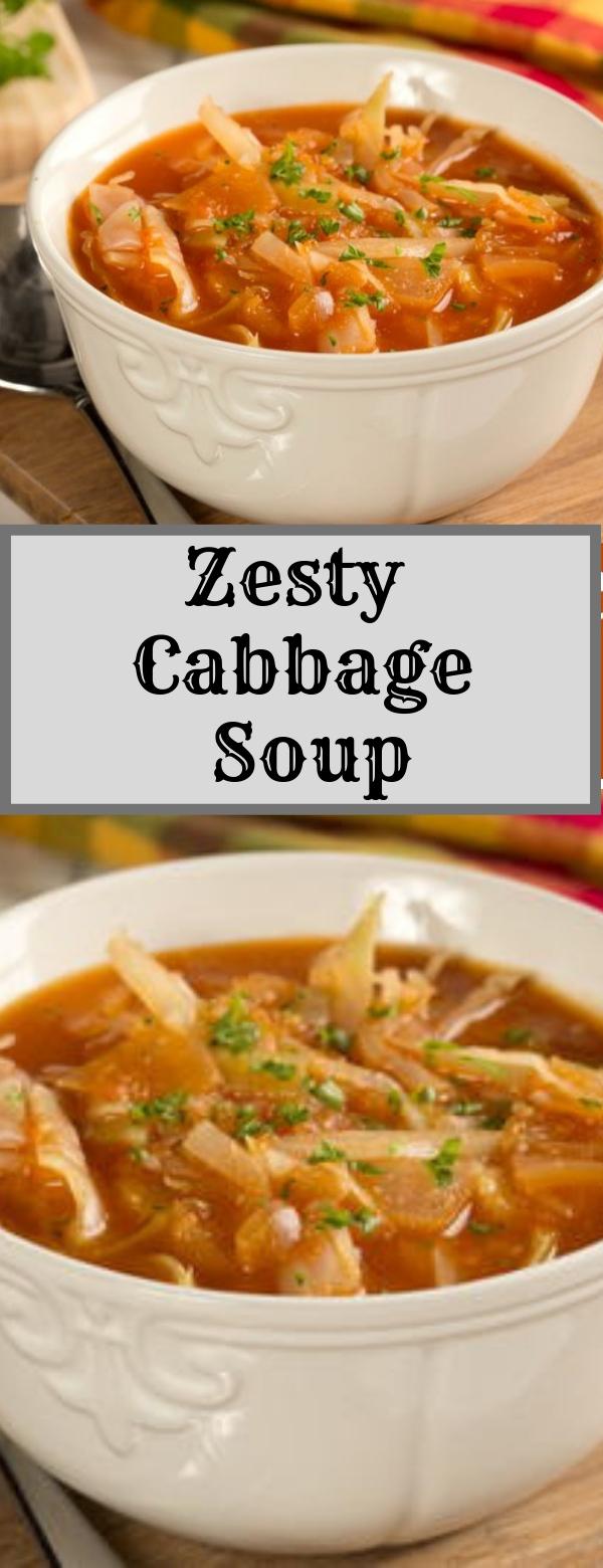 Zesty Cabbage Soup