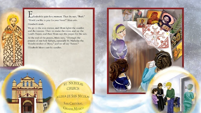 Learn about Saint Nicholas and the Saint Nicholas Day traditions in The Saint Nicholas Day Snow written by Charlotte Riggle. #kellysclassroomonline