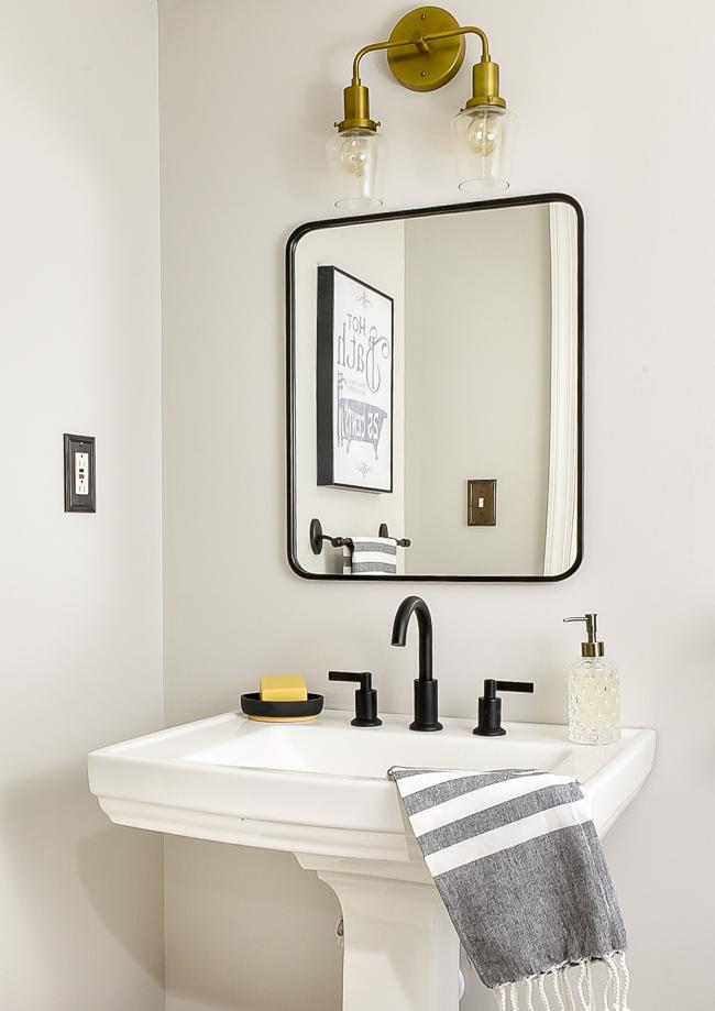 Vintage chic bathroom updates