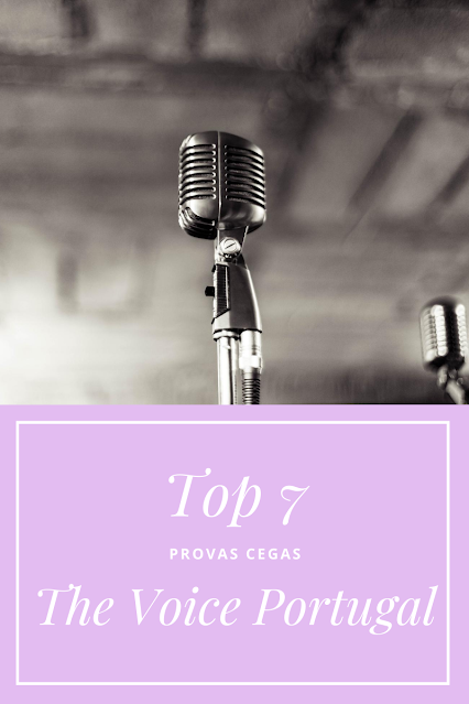 Top 7  Provas Cegas - The Voice Portugal | Season 4