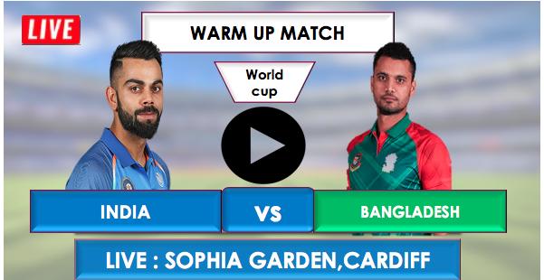 INDIA vs BANGLADESH Live Streaming Online free, India will Bat first