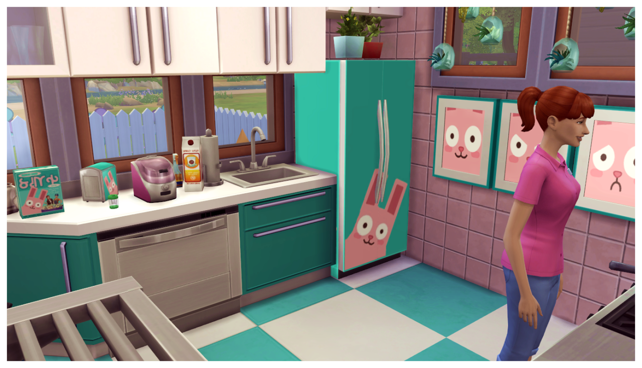 My Sims 4 Blog: Freezer Bunny Daycare and Stuff Pack by SimDoughnut