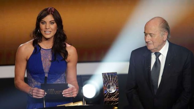 US female goal keeper Hope Solo, accuses Sepp Blatter of sexual assault