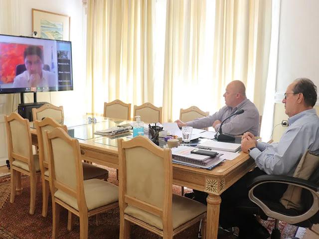 Τηλεδιάσκεψη Νίκα - Μαντζούνη με Αυγενάκη για την επαναλειτουργία των αθλητικών χώρων