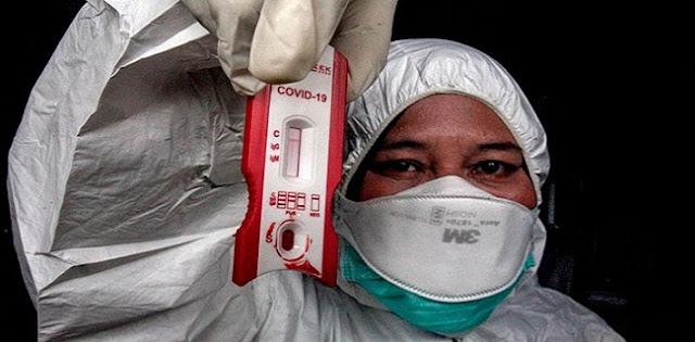 Masuk ODP, Puluhan Anggota DPRD Pandeglang Jalani Rapid Test Covid-19