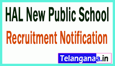 HAL New Public School Recruitment Notification
