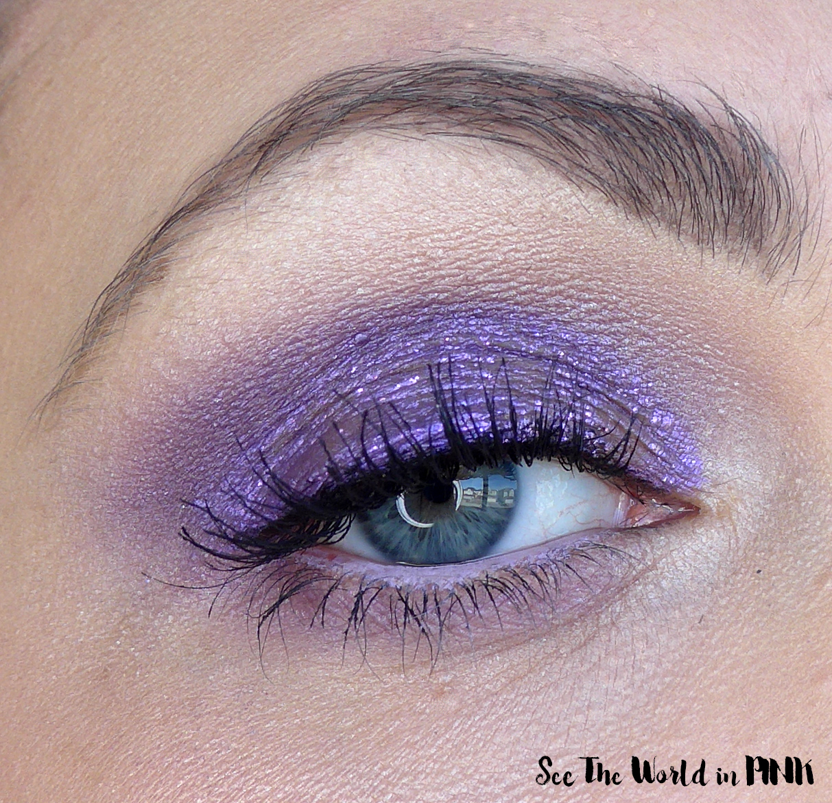 Hard Candy Glitteratzi - Glitter & Chrome Eyeshadow Duo in Viva La Venus