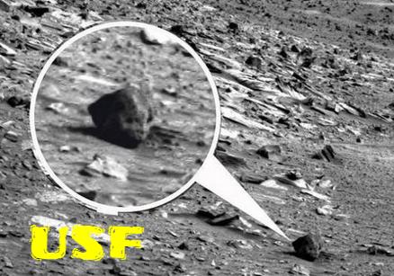 Alien Head Found On Mars.