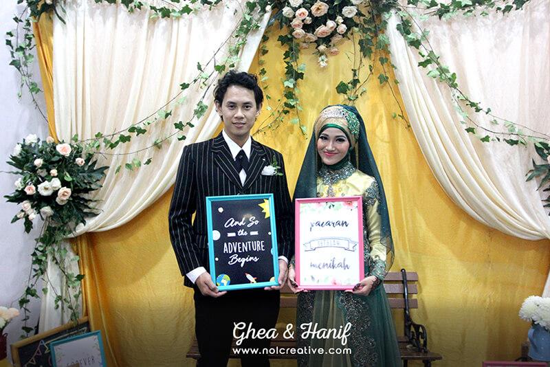 [DECOR] The Wedding of Ghea & Hanif