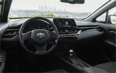 interior look of 2018 c-hr