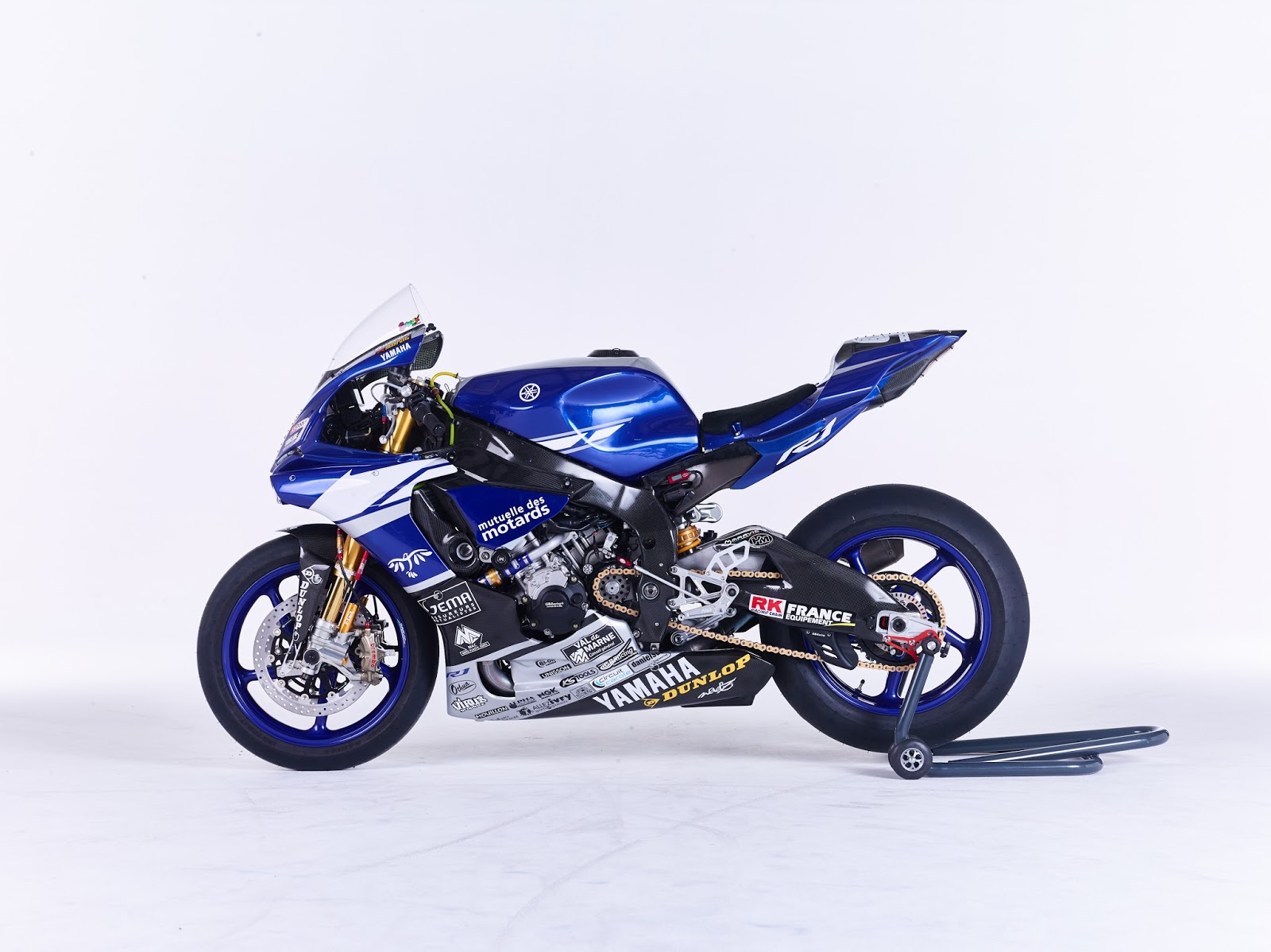 racing caf yamaha yzf r1 team gmt94 2016. Black Bedroom Furniture Sets. Home Design Ideas