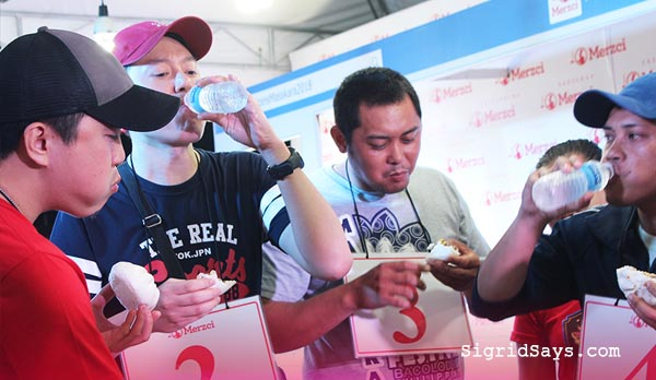 Merzci Pasalubong Masskara Festival - MassKara Photo Wall - Bacolod Tourism Strip - Bacolod City - Bacolod tourism - Electric MassKara - Merzci chicken siopao eating contest