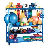 Kiefer Rolling Equipment Rack