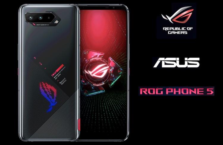 ASUS ROG 5 Gaming Smartphone With 6000 mAh Split Battery