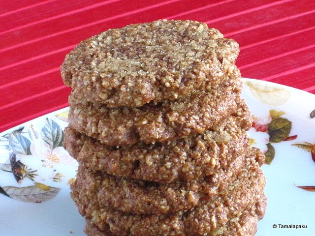 Almond Ginger Snap Cookies